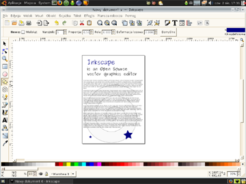 how to make an area transparent in inkscape